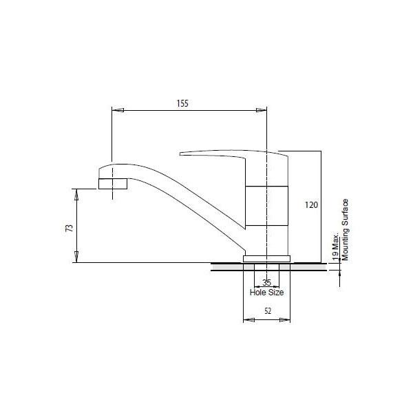Ivy Basin Mixer Swivel 02