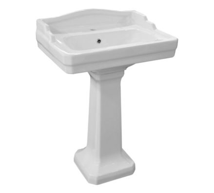 Johnson Suisse Colonial Basin And Pedestal