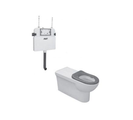 Johnson Suisse Life Assist Pan + Inwall Cistern 01