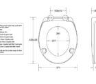 Js Plaza Xtra Raised Toilet Seat Specs