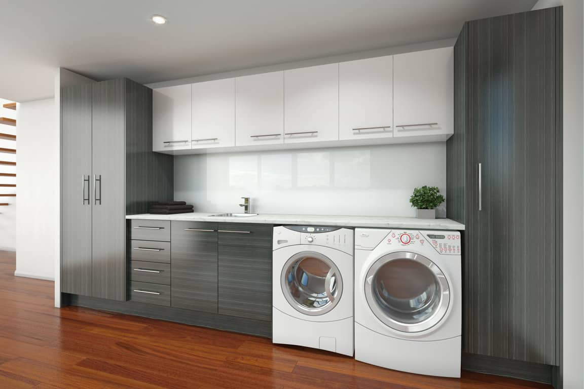 Timberline Laundry Cabinets White Bathroom Co