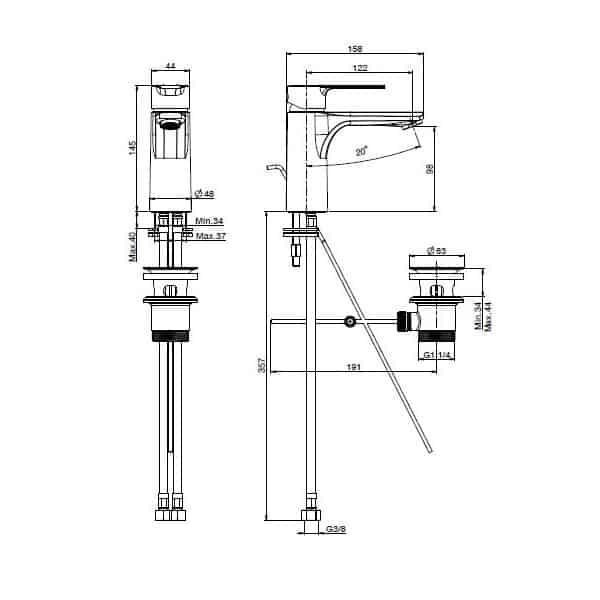 Mast Basin Mixer 02