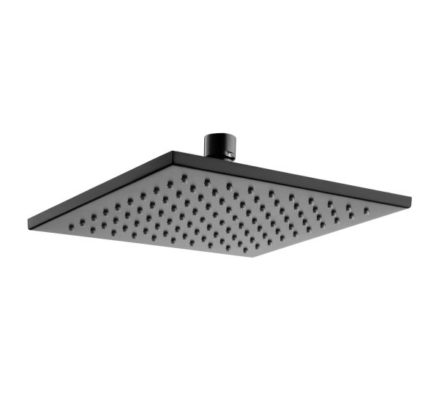 Modena Overhead Shower Head Black 01