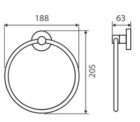 Michelle Towel Ring Specs