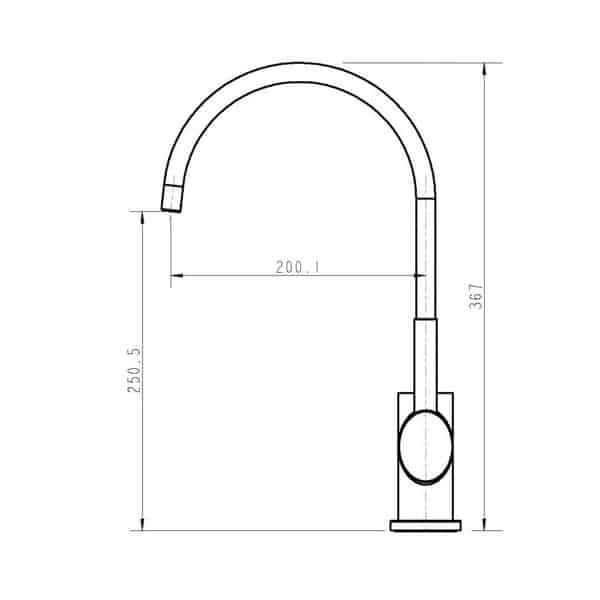Ovalie Sink Mixer 02