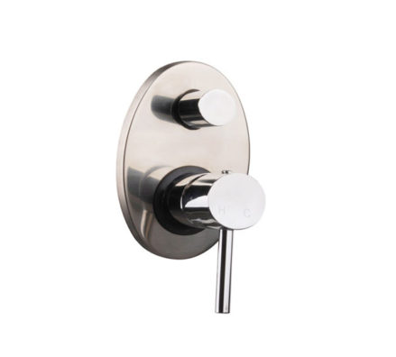 Ovalie Wall Mixer With Diverter 01
