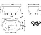 Ovalo 1200