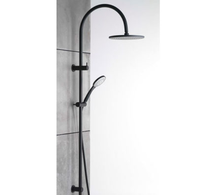 Pegasi 600 Dual Shower Matte Black