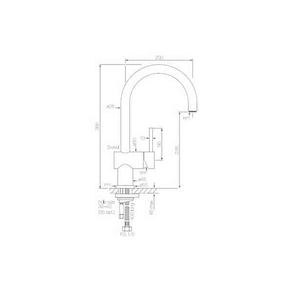 Pegasi Sink Mixer Curve 02
