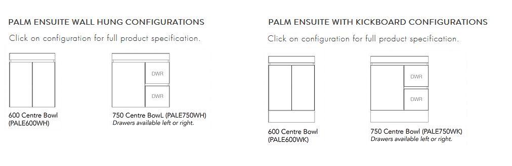 Palm Ensuite Config