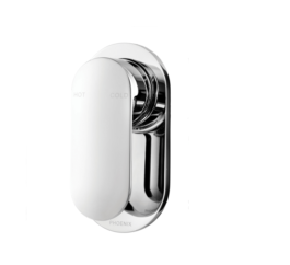 Phoenix Ce780 Cerchio Shower Wall Mixer 2 3