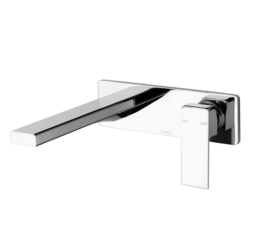 Phoenix Radii Wall Basin Set Mixer