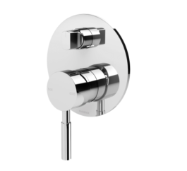 Phoenix V792 Chr Vivid Shower Bath Diverter Mixer 12