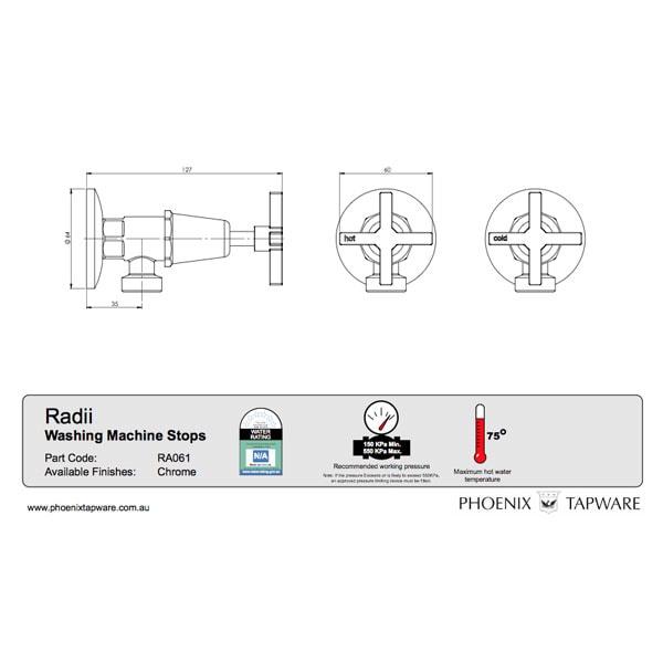 Radii Washing Machine Stops 02