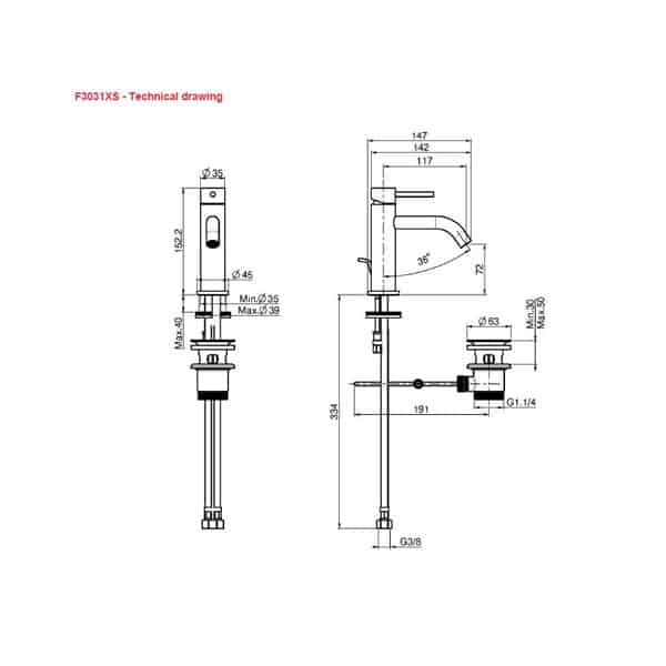 Spillo Up Basin Mixer 02