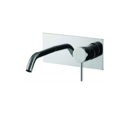 Spillo Up Basin Mixer Wall Mount 209mm 01