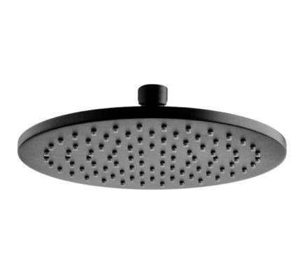 Starry Overhead Shower Head Black