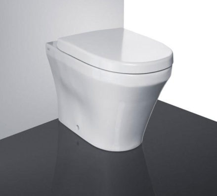 Studio Bagno Q Wall Faced Pan + Cistern 01