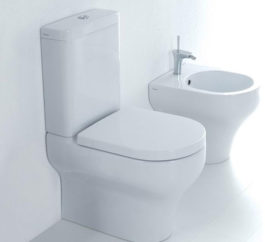Studio Bagno Clear Back To Wall Toilet Suite 01