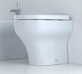 Studio Bagno Clear Wall Faced Pan + Cistern 01