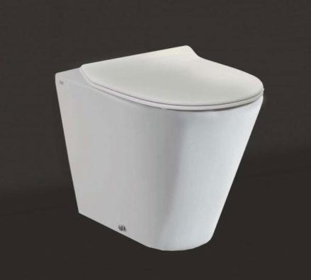 Studio Bagno Manhattan Wall Faced Pan + Cistern 01