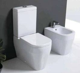Studio Bagno Tutto Evo Back To Wall Toilet Suite 01