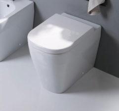 Studio Bagno Tutto Evo Wall Faced Pan + Cistern 01