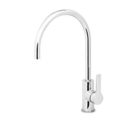 Subi Kitchen Mixer 200mm Gooseneck 01