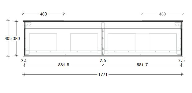 Simplicity Ensuite Spec 1800d