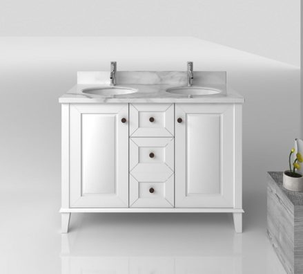 Th Coventry 1200 White 3 Drawers