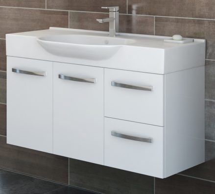 Timberline Lisbon Vanity 1050mm L105ew