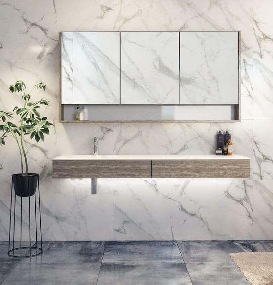 Timberline Splice Vanity 1500mm