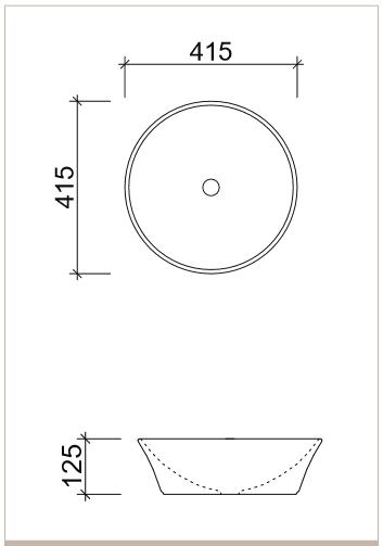 Timberline Flair Basin Specs