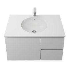 Timberline Oval Undermount Withoverflow