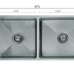 Uptown Utr2 25 Square Sink