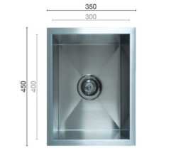 Uptown Uts300 Square Sink