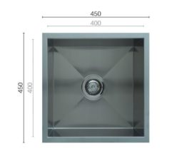 Uptown Uts400 Square Sink