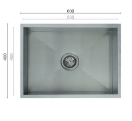 Uptown Uts550 Square Sink