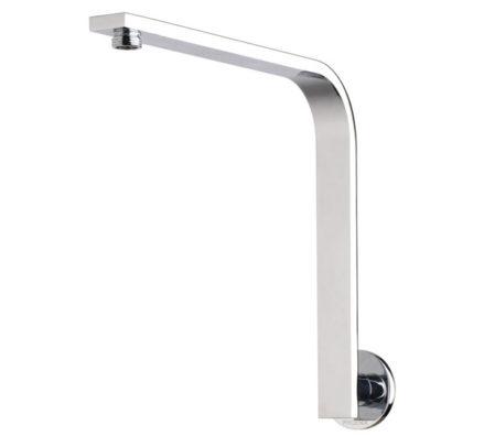 Vivid Slimline Shower Arm Round Plate 01