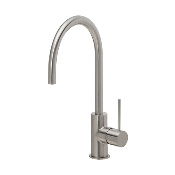 Vivid Slimline Side Lever Sink Mixer 220mm 2 02