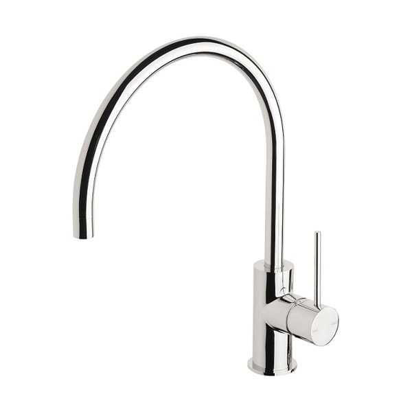 Vivid Slimline Side Lever Sink Mixer 220mm 2 03