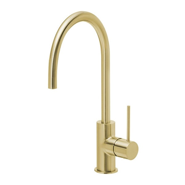 Vivid Slimline Side Lever Sink Mixer 220mm 2 04