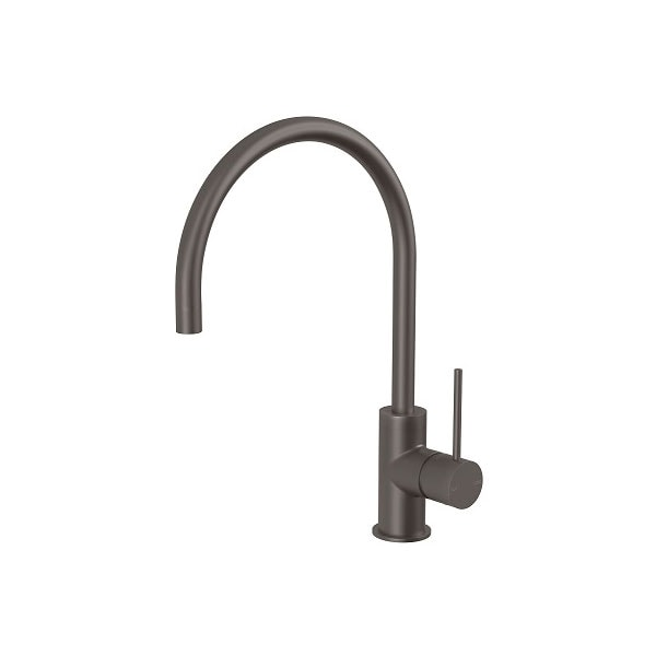 Vivid Slimline Side Lever Sink Mixer 220mm 2 05