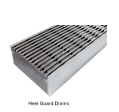 Vinco Heel Guard Drain