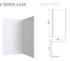 Wall 2 Sided 1200 Specs