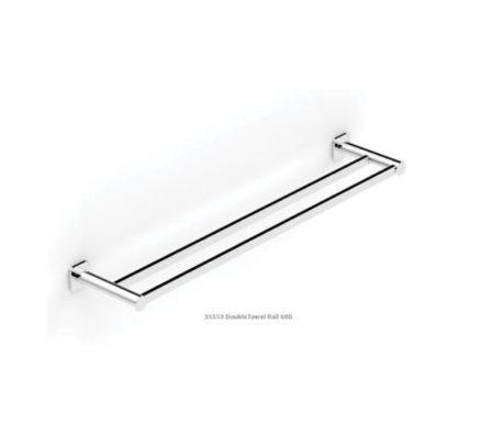 Zeos Towel Rail Double 600 01