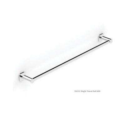 Zeos Towel Rail Single 600 01