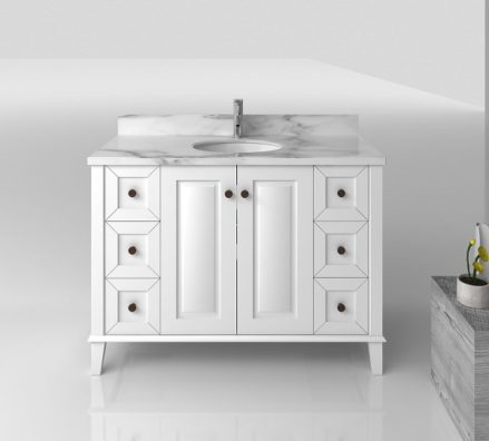 Coventry 1200 White 6 Drawers