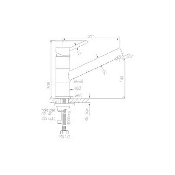 Pegasi Sink Mixer 02