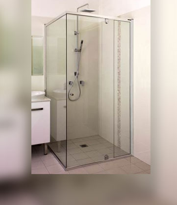 Semi Frameless Shower